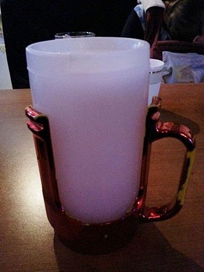 얼음컵 맥주와 안주가 죽여준다-해적왕 호프