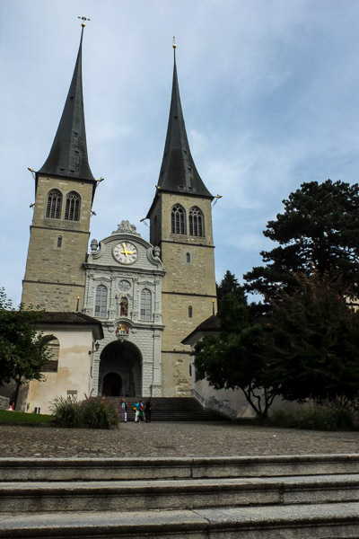 2013, Luzern, Switzerland - Church
