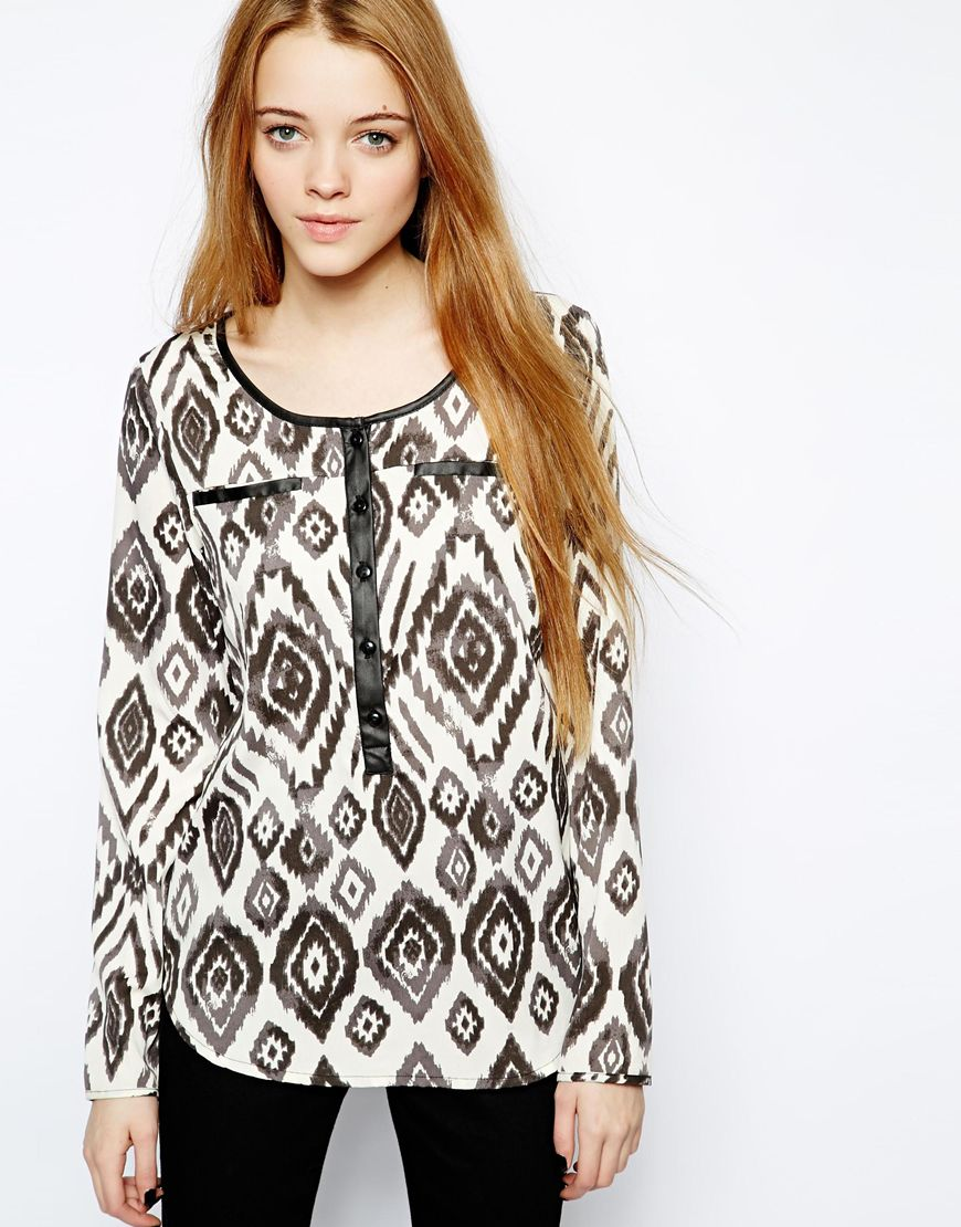 여성복(Only Aztec Print Shirt RRP $53.35 $38.11)