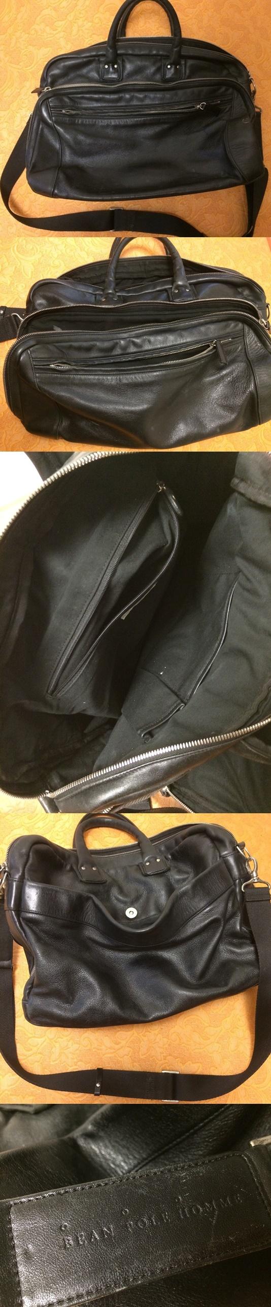 [나눔-완료] 빈폴 남성 가죽 가방