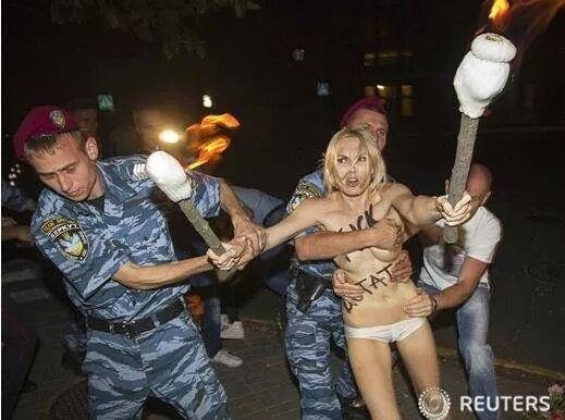 우크라이나의 인권유린 현장