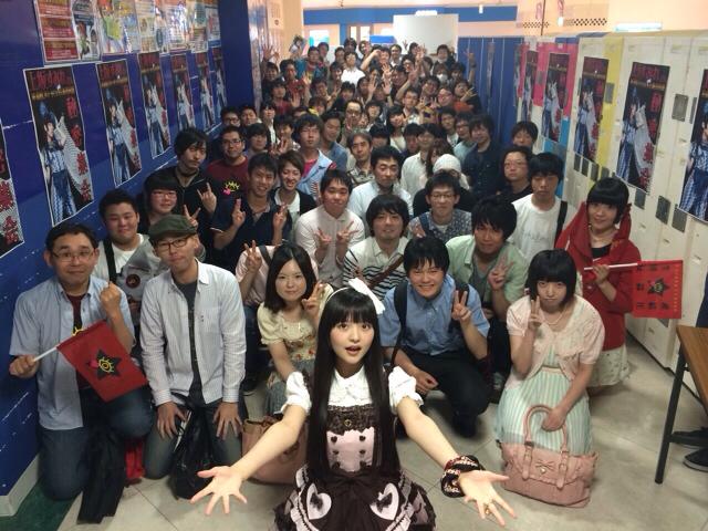 성우 우에사카 스미레가 팬들과 함께 찍은 사진이 화제?