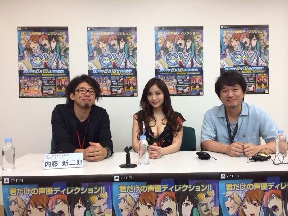 성우 다카하시 치아키씨가 자신의 트위터에 올린 사진