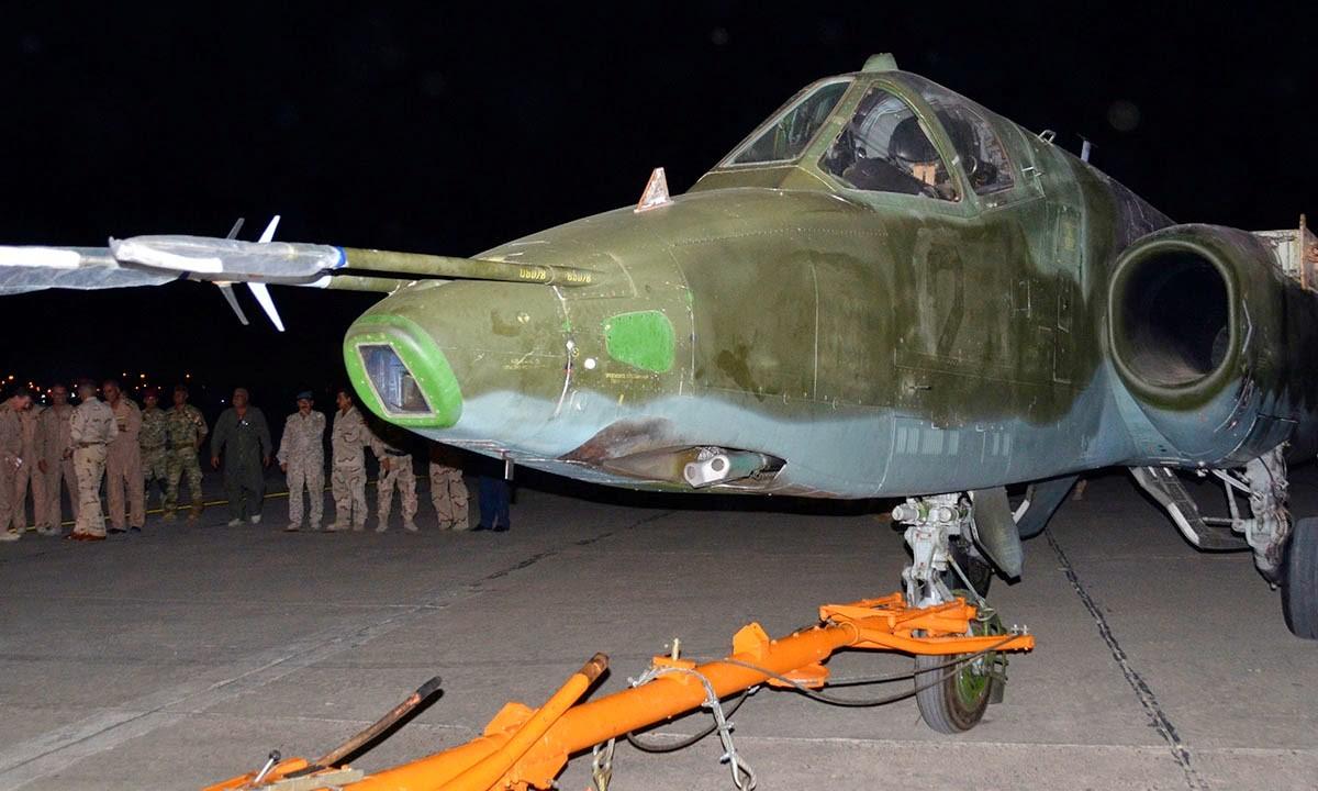 이라크가 받은 Su-25 공격기는 이란이 제공했다?