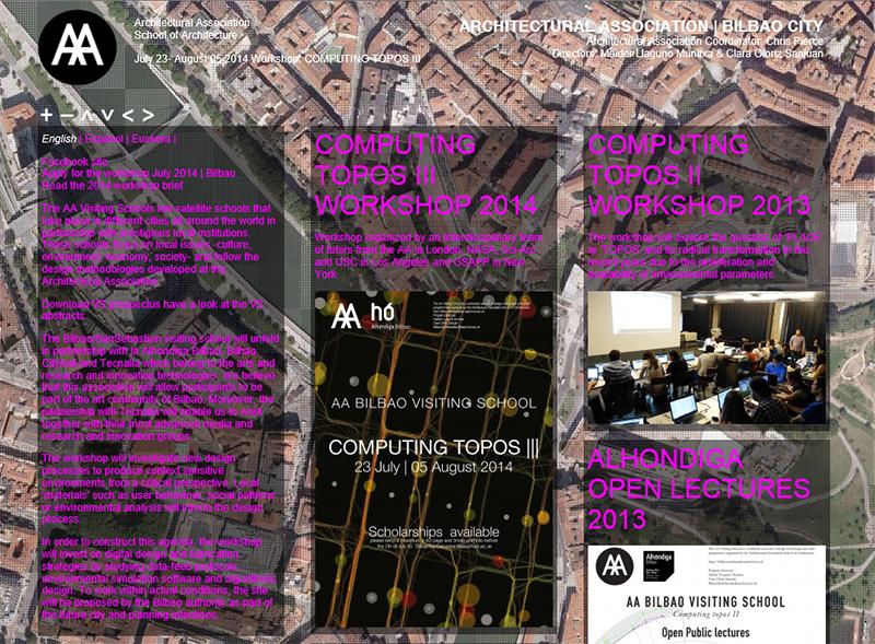 AA 빌바오 여름워크숍: AA Bilbao Visiting 2014