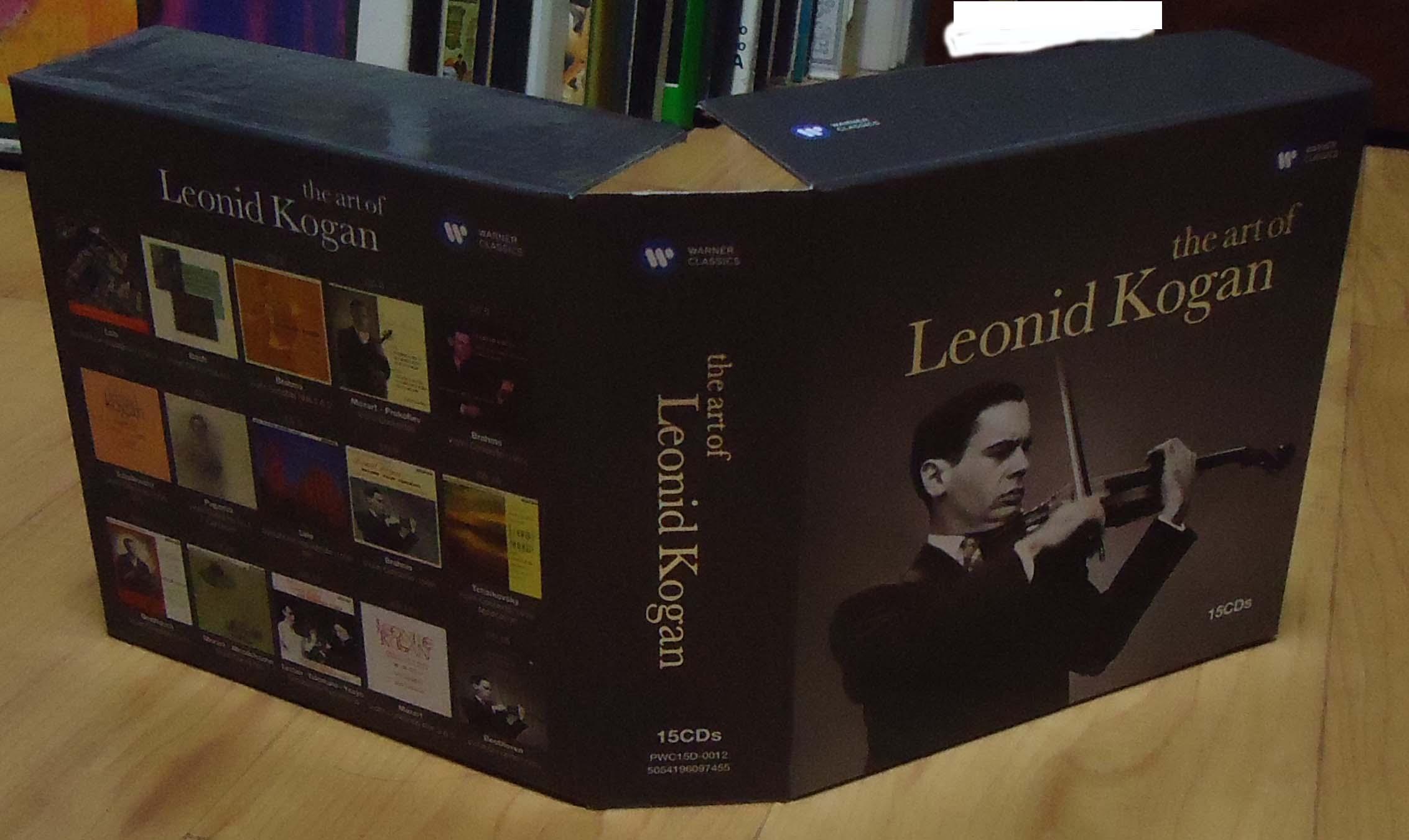 Leonid Kogan ; complete EMI recordings(W..