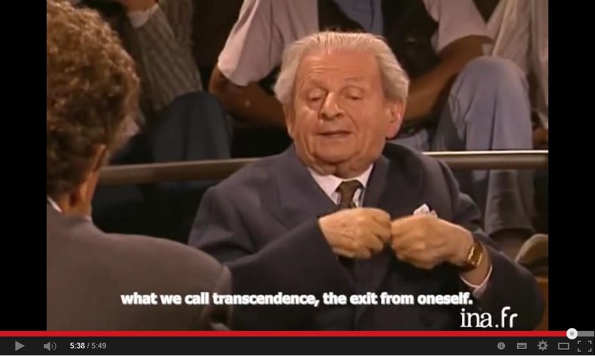 Interview with Levinas