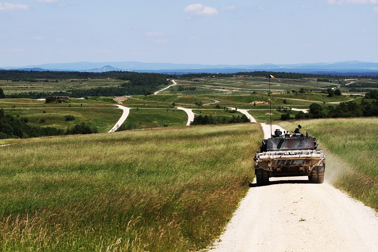 Combined Resolve II 훈련 참가 루마니아육군 T..