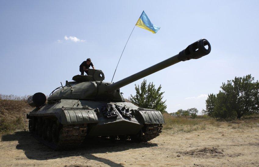 우크라이나 정부군. IS-3를 되찾아오다.