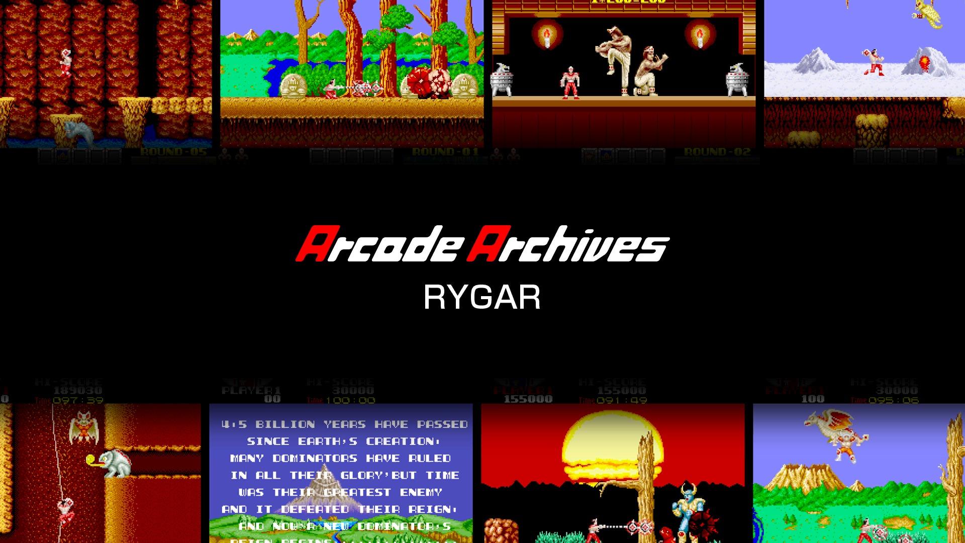 아케이드 어카이브스 라이거 RYGAR (PS4)