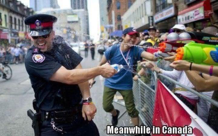 캐나다의 시위 문화