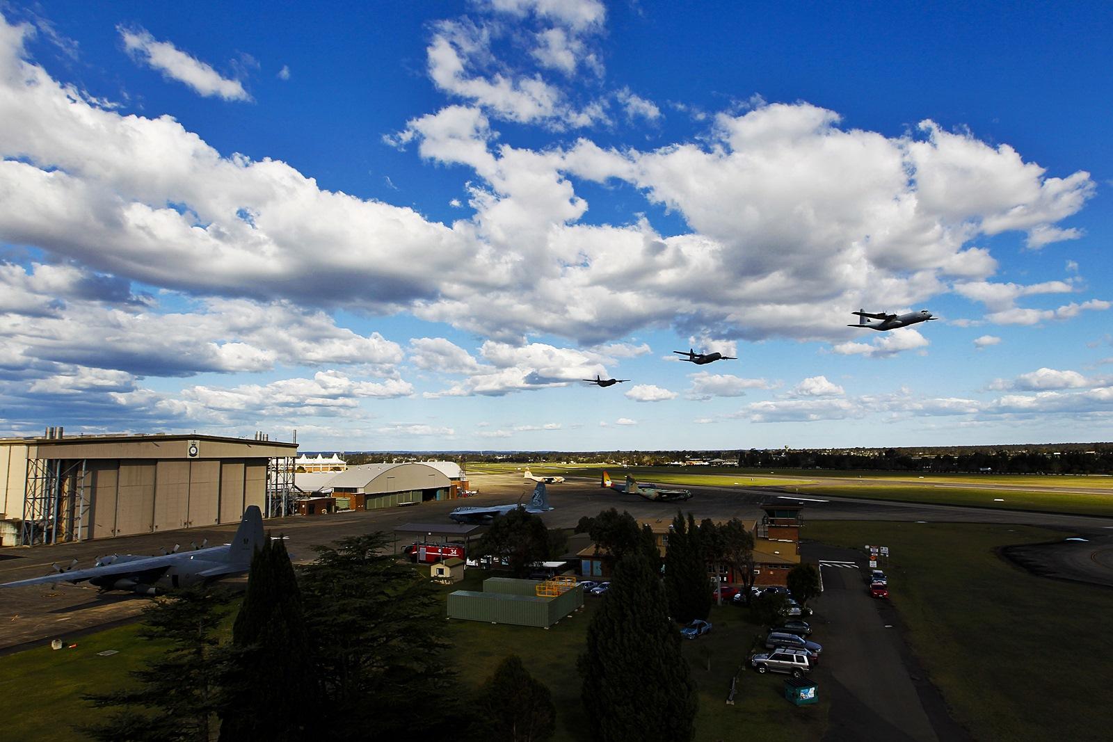 56년간 80만 비행시간 달성 호주공군 C-130 Hercule..