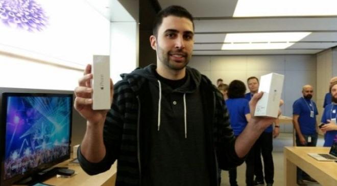 아이폰6 전 세계 공식 첫 구매자
