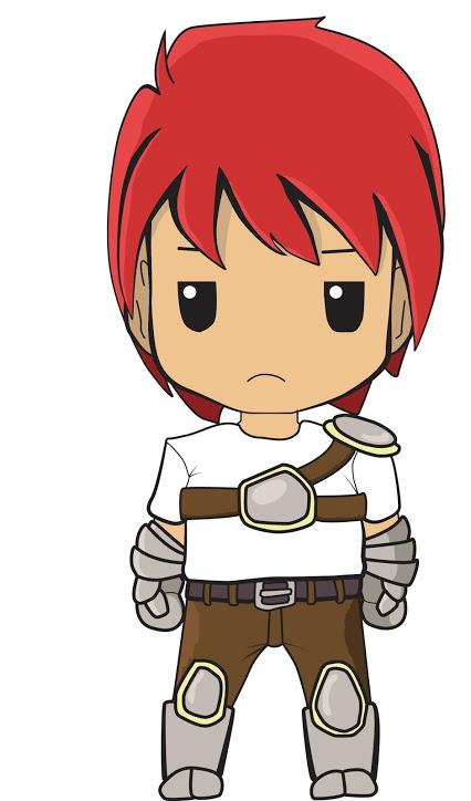 초보자의 전사 캐릭터