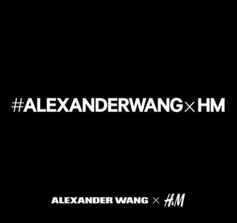 11월6일 Alexander Wang X H&M Collaboration