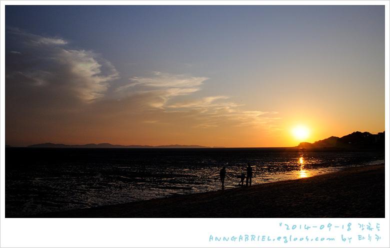[강화도] 해지는 동막해수욕장 오토캠핑