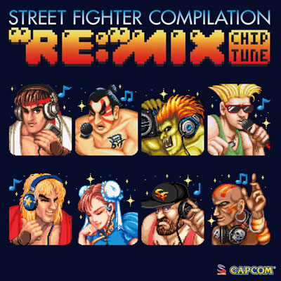 """Street Fighter Compilation """"RE:""""MIX Chiptune"""