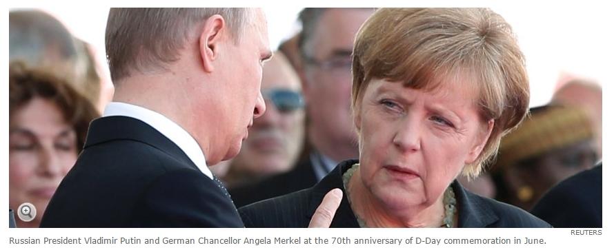 발칸반도에서 푸틴과 메르켈의 결투? ^^