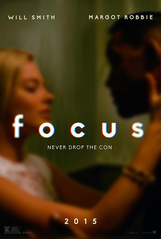 """윌 스미스 주연의 새 영화, """"Focus"""" 입니다."""