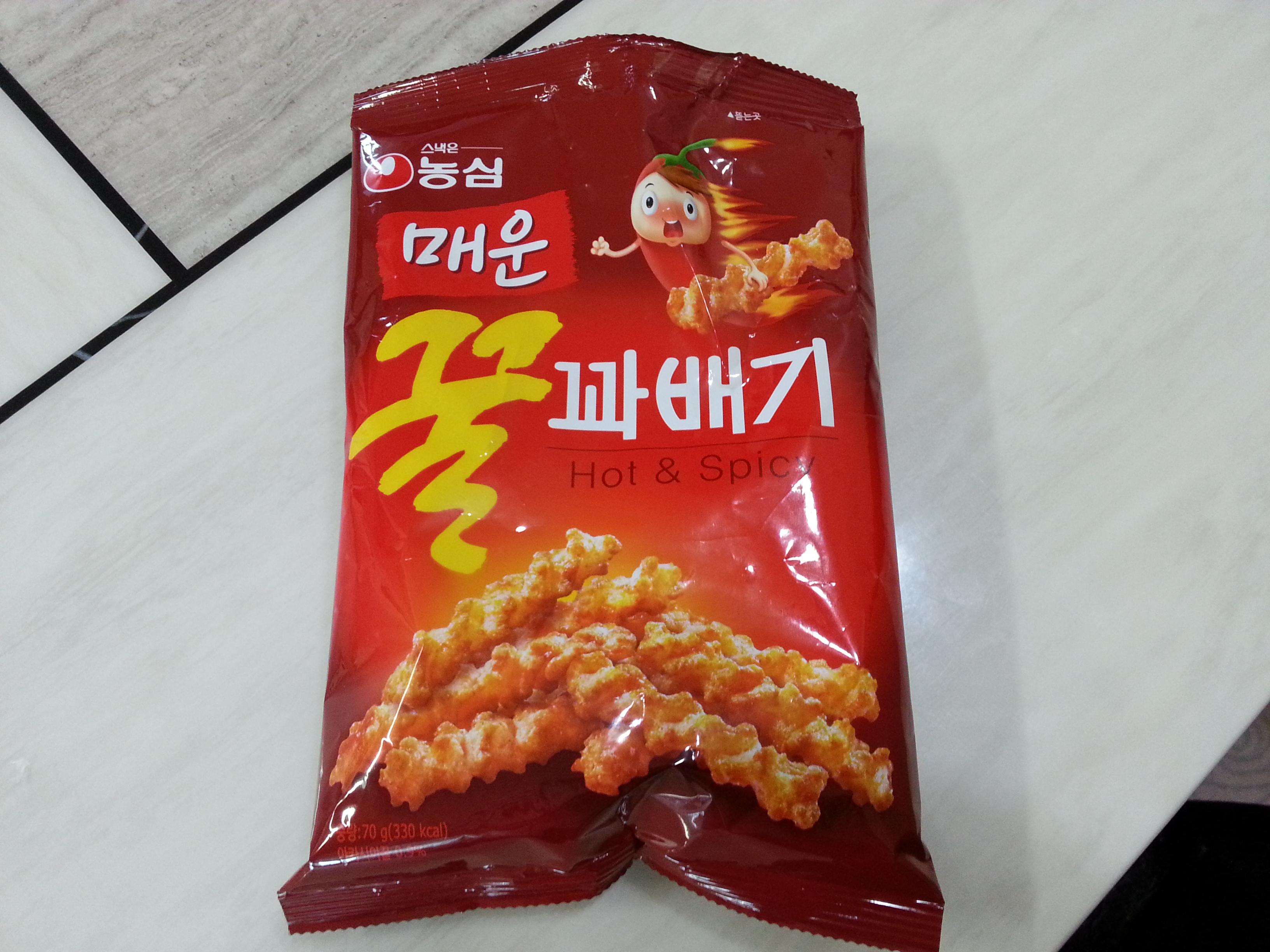 [농심] 매운 꿀꽈배기