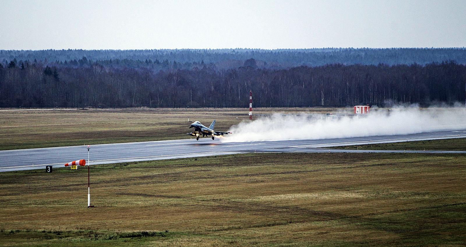 NATO BAP 임무중인 독일공군 Eurofighter