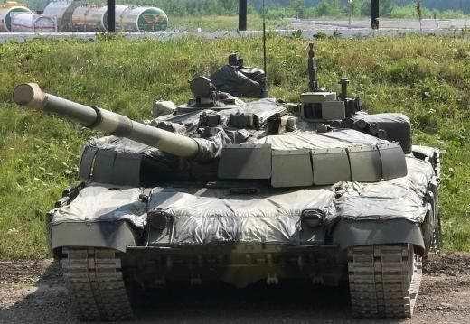 러시아 전차상 첫 DMRS가 달린 전차