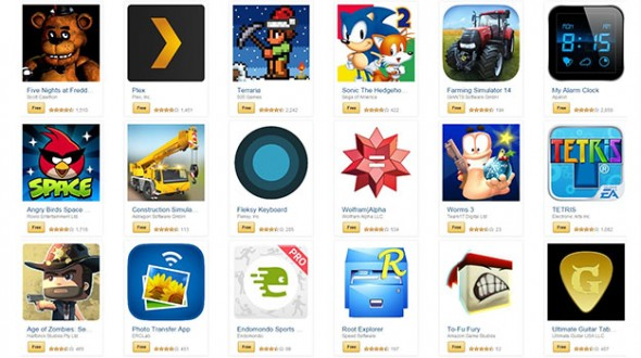 Amazon 220달러치 앱 공짜로 풀어 [Geek.com]