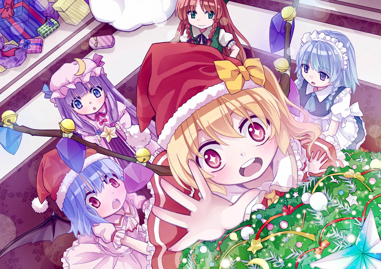 [동방MMD] 카리츄마! 크리스마스 스페셜 (か..