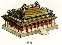12세기 만월대 궁궐건물들이 상당수 이중처마였을..