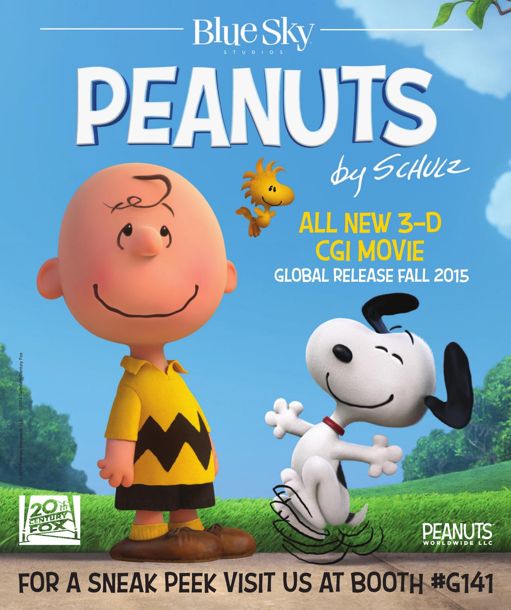 """""""Peanuts"""" 새 예고편입니다."""