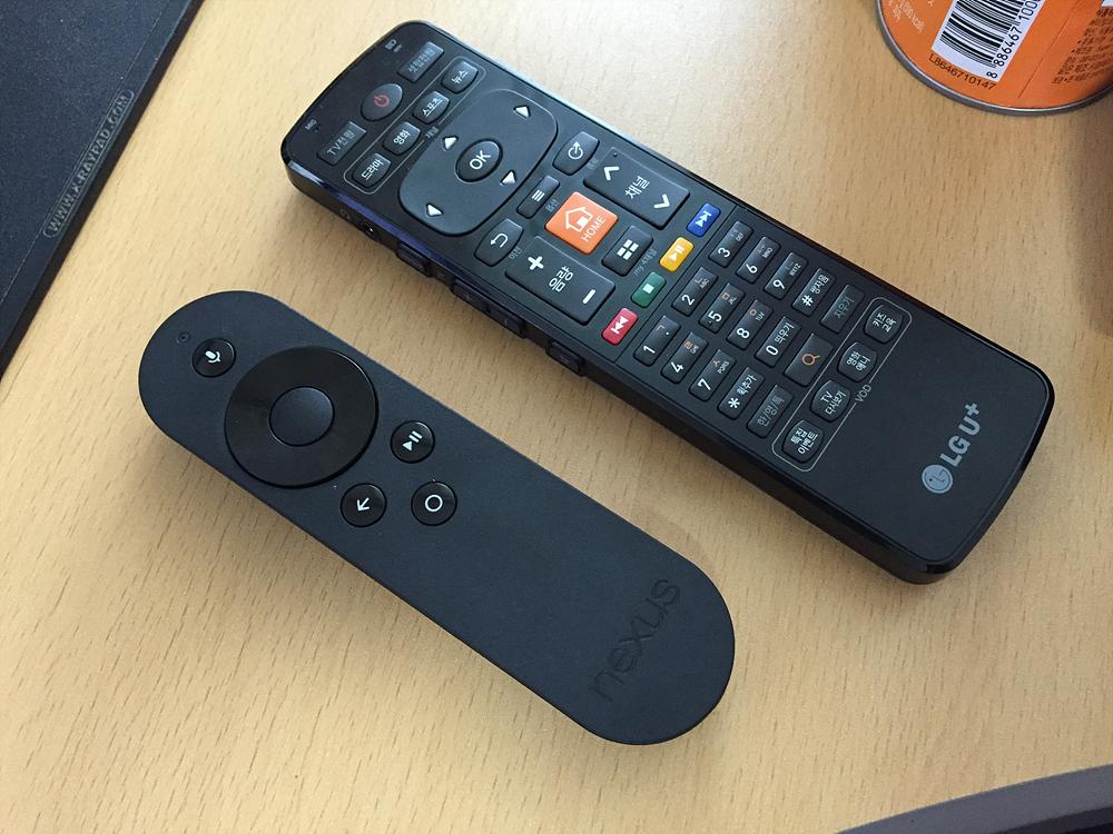 구글TV와 안드로이드TV 간단 비교