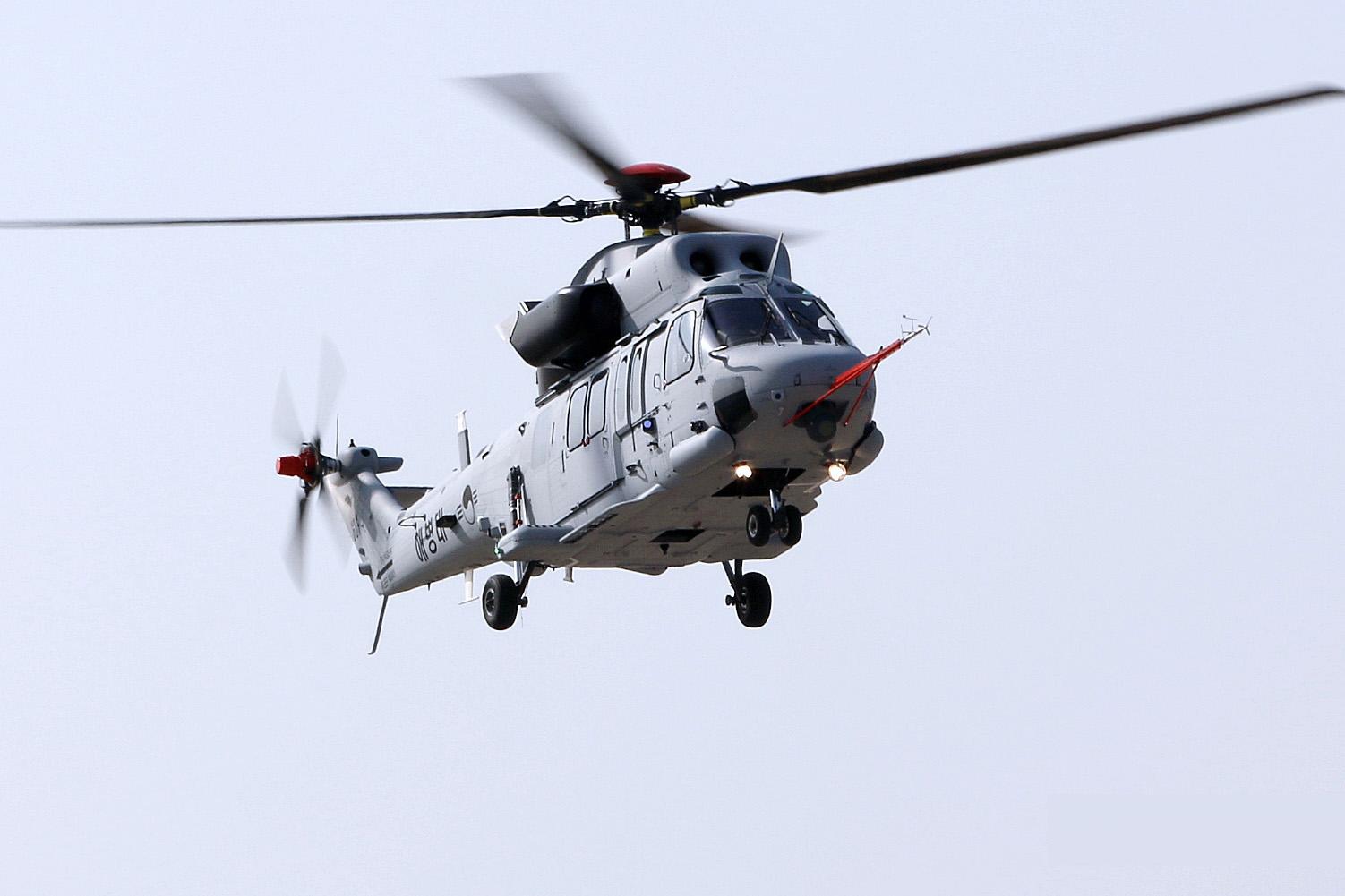 수리온 상륙기동헬기 초도비행 성공