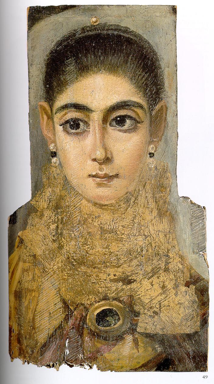 루브르 #2 - <젊은 여인의 초상>