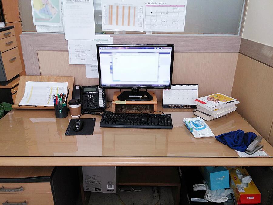 유여사와 아이들 - 사무실 책상/자리 공개