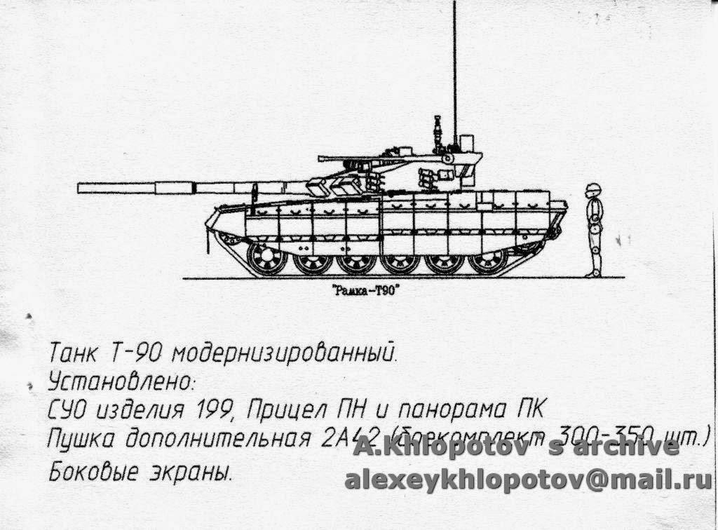 T-90 현대화 계획안