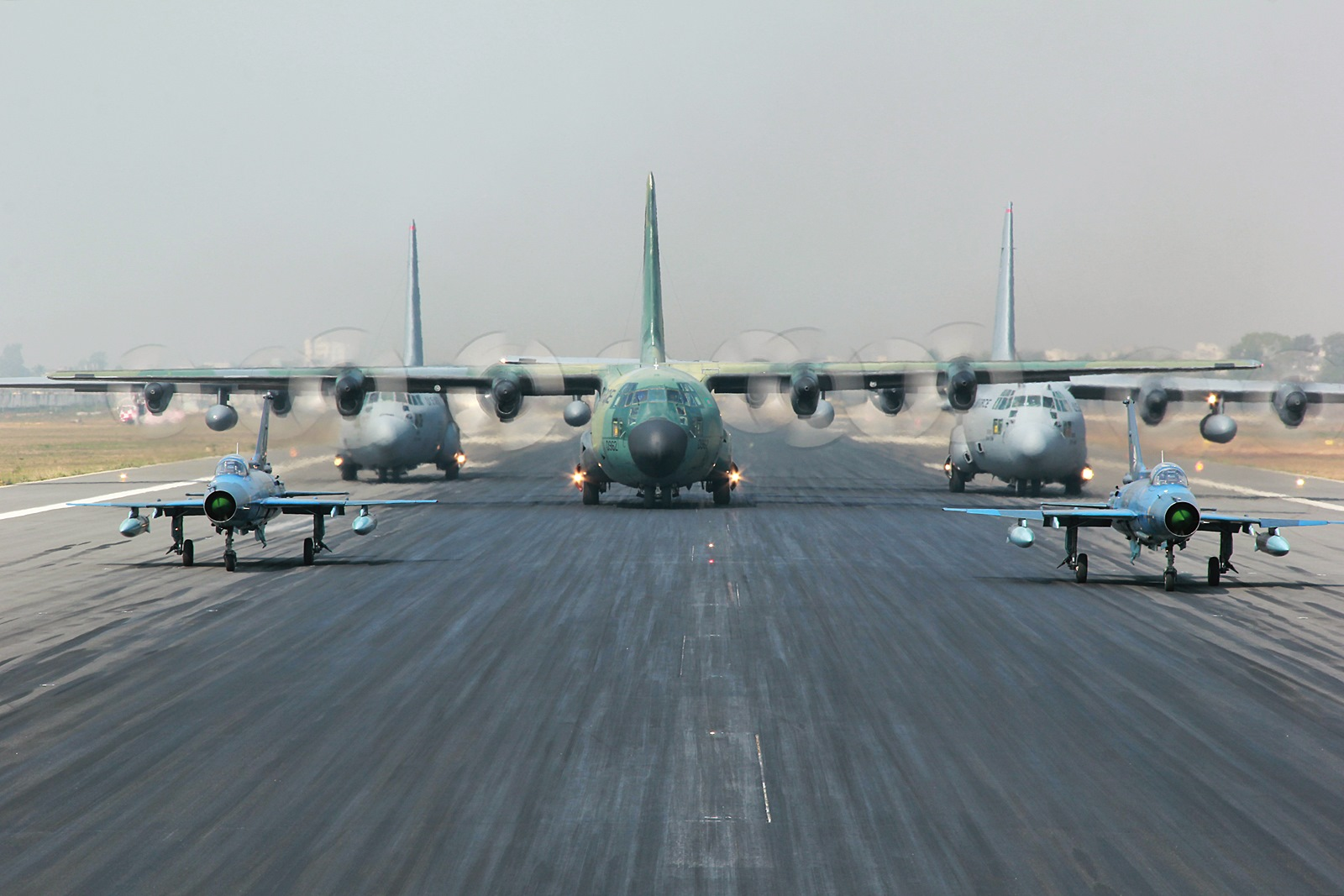 미공군과 방글라데시 공군 합동훈련 Cope South 2015