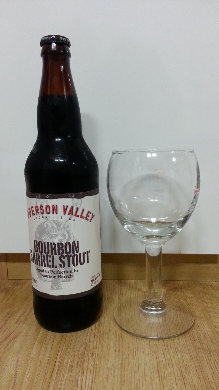 [미국] Anderson Valley Bourbon Barrel Sto..