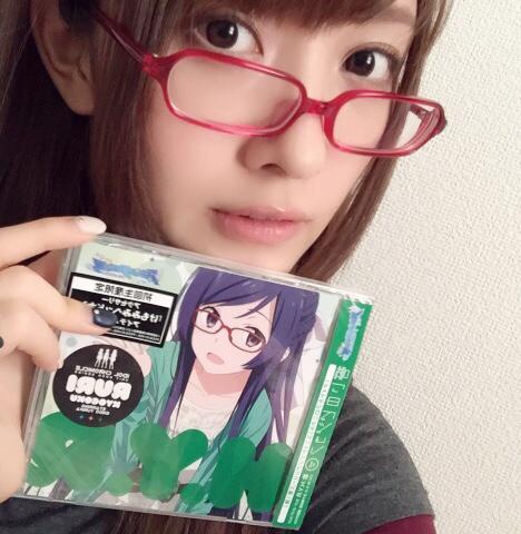 성우 엔도 유리카씨가 자신의 트위터에 올린 사진