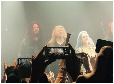 2015. 3. 8. Arch Enemy in Korea.