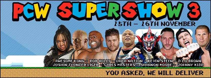 PCW Supershow 3 Night 2 Day Show Review