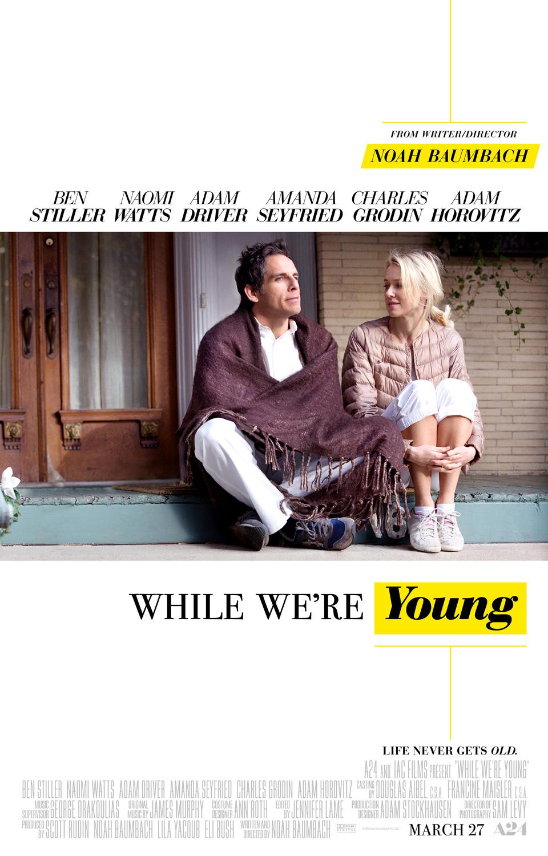 """노아 바움백 감독의 신작, """"While We're Young"""" 영.."""