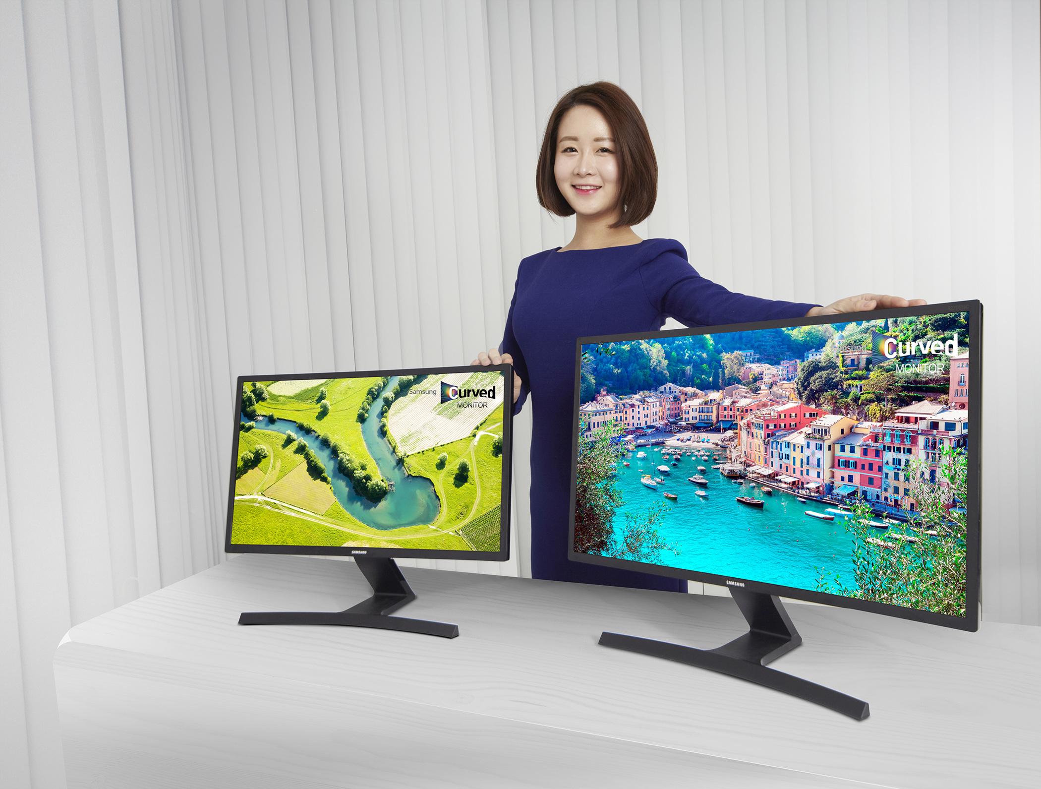삼성전가 커브드 모니터 라인업 증가 중