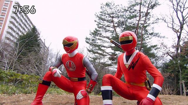 닌닌자 + 두개의 붉은 그림자!?