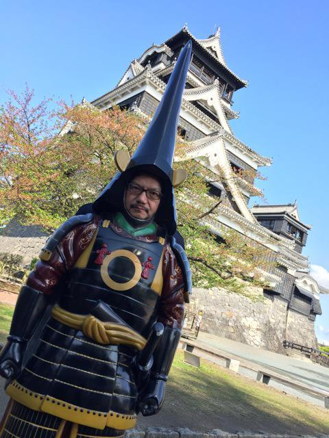 안노 히데아키 감독의 사진, 가토 기요마사의 갑옷과..