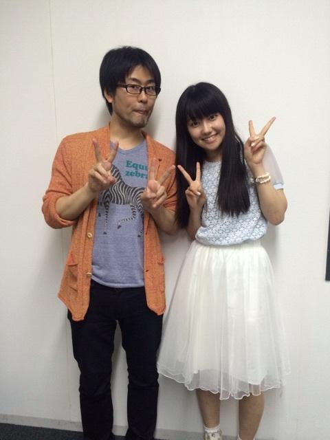 성우 미사와 사치카 & 와시자키 타케시씨의 사진