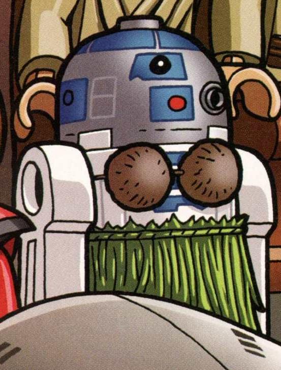 [식은 떡밥도 다시 보자] R2-D2의 기억은 지워졌는가?