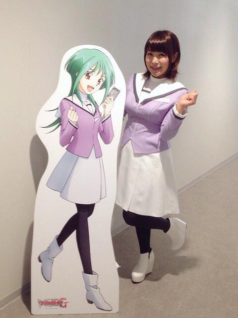 성우 닛타 에미씨가 자신의 트위터에 올린 사진