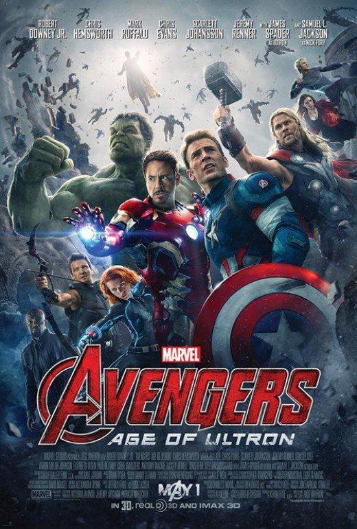어벤져스2 포스터 모음