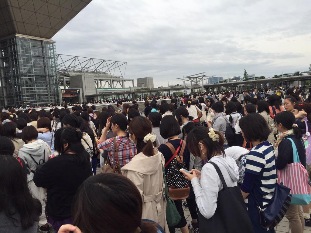 2015년 5월 5일, 도쿄 빅사이트에서 크고 작은 행사..