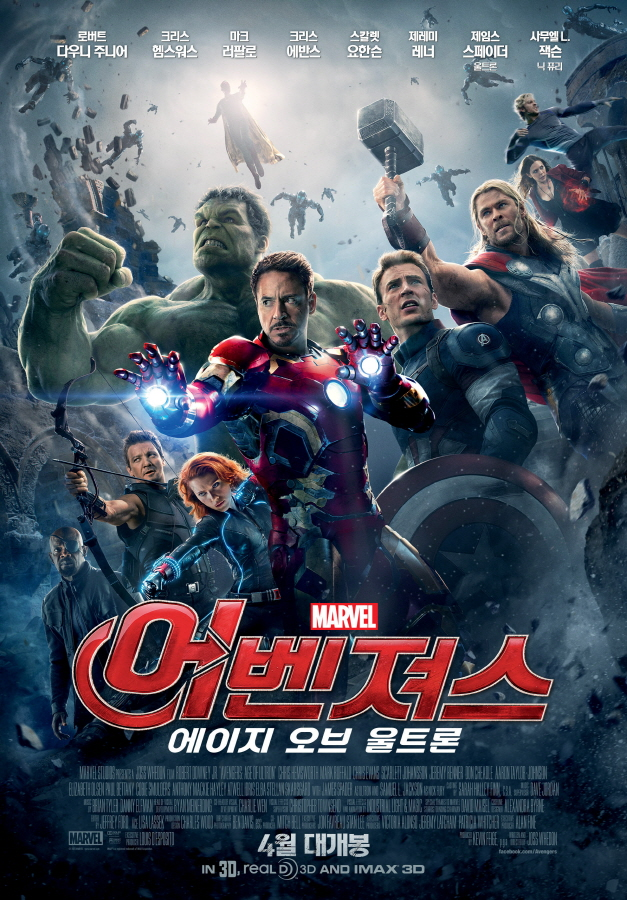 The Avengers:Age of Ultron (2015)
